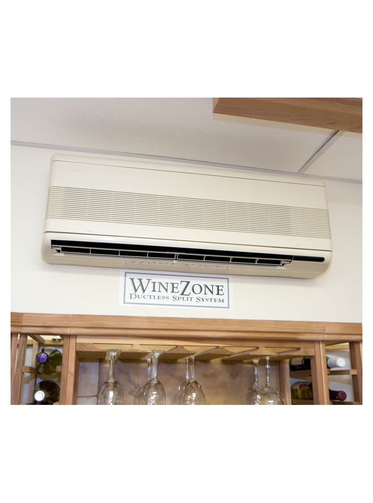 WineZone Ductless Split 4500 Series