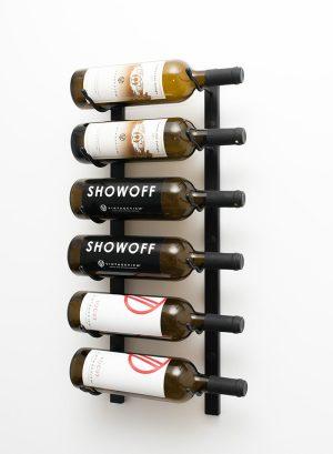 2u2032 wall mounted wine rack single deep