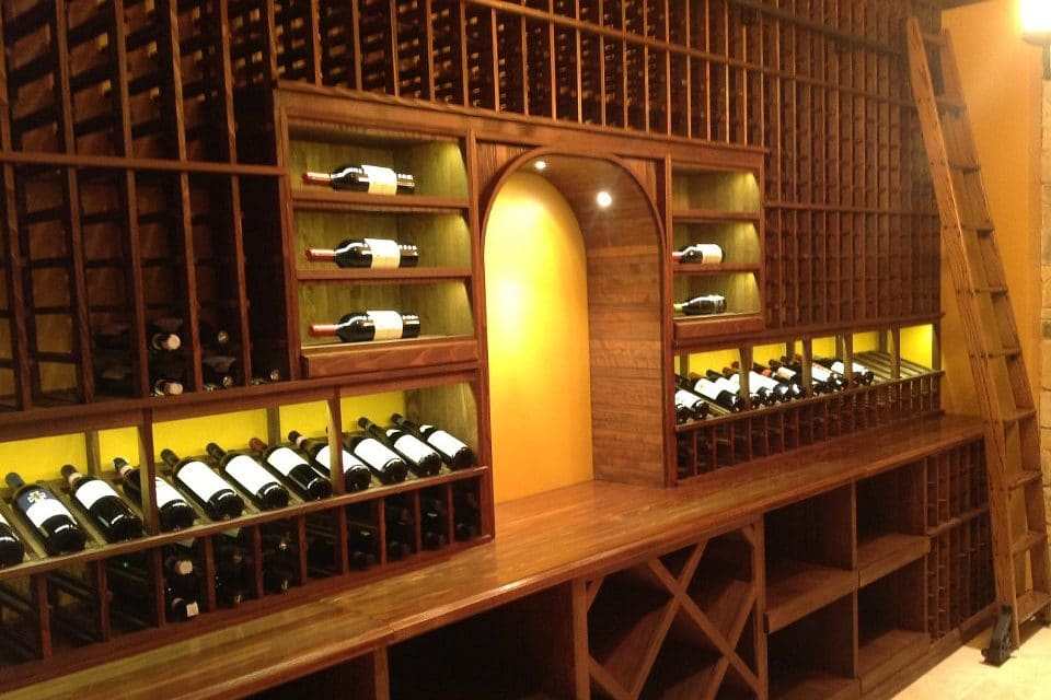 Cool wine cellar cellar gallery wine cellars storage for Cost to build a wine cellar