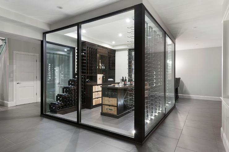 Cool Wine Cellar Custom Glass Wine Cellars Gallery