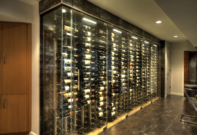 Glass Wall Wine Cellar 3